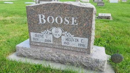 BOOSE, IRENE V. - Shelby County, Iowa | IRENE V. BOOSE