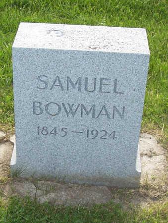 BOWMAN, SAMUEL - Shelby County, Iowa | SAMUEL BOWMAN