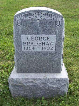 BRADSHAW, GEORGE - Shelby County, Iowa | GEORGE BRADSHAW