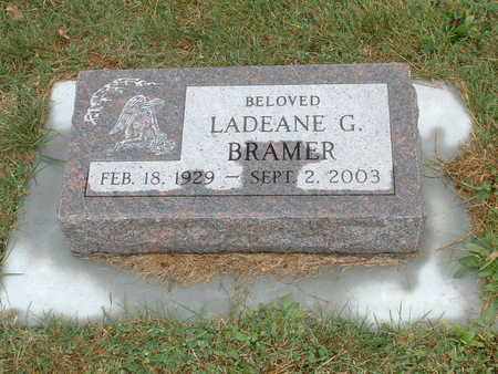 BRAMER, LADEANE G - Shelby County, Iowa | LADEANE G BRAMER