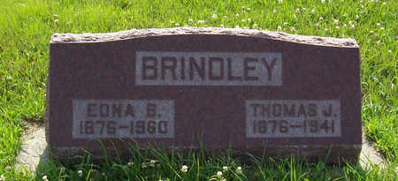 BRINDLEY, EDNA B. - Shelby County, Iowa | EDNA B. BRINDLEY