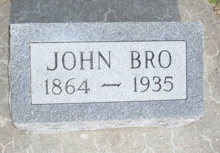 BRO, JOHN - Shelby County, Iowa | JOHN BRO