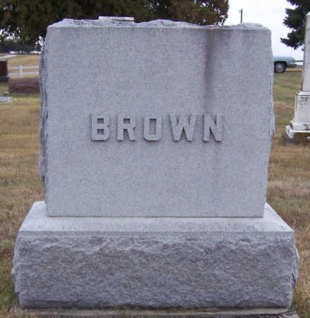 BROWN, (LOT) - Shelby County, Iowa | (LOT) BROWN