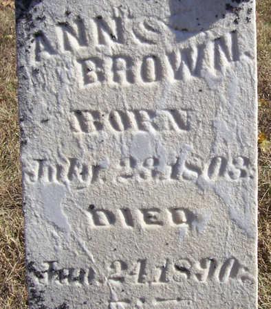 BROWN, ANN (CLOSE-UP) - Shelby County, Iowa | ANN (CLOSE-UP) BROWN