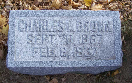 BROWN, CHARLES L. - Shelby County, Iowa | CHARLES L. BROWN