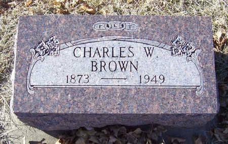 BROWN, CHARLES W. - Shelby County, Iowa | CHARLES W. BROWN