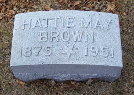 BROWN, HATTIE MAY - Shelby County, Iowa | HATTIE MAY BROWN