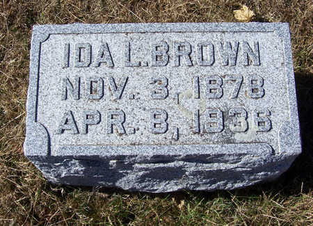BROWN, IDA L. - Shelby County, Iowa | IDA L. BROWN