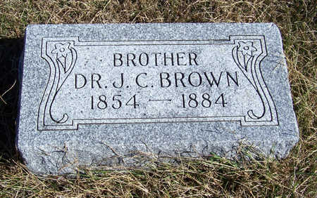 BROWN, J. C. (DR.) - Shelby County, Iowa | J. C. (DR.) BROWN