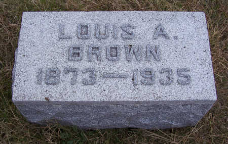 BROWN, LOUIS A. - Shelby County, Iowa | LOUIS A. BROWN