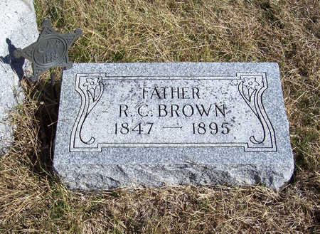 BROWN, R. C. (FATHER) - Shelby County, Iowa | R. C. (FATHER) BROWN
