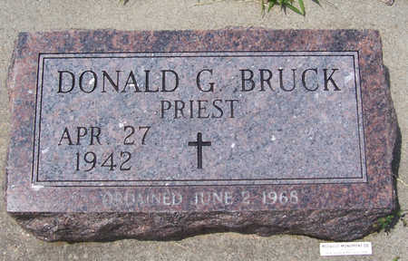 BRUCK, DONALD G. (PRIEST) - Shelby County, Iowa | DONALD G. (PRIEST) BRUCK