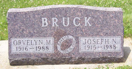 BRUCK, ORVELYN M. - Shelby County, Iowa | ORVELYN M. BRUCK