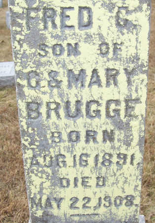 BRUGGE, FRED C. (CLOSE-UP) - Shelby County, Iowa | FRED C. (CLOSE-UP) BRUGGE