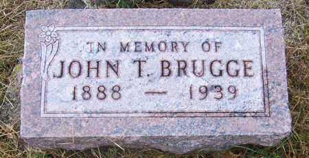 BRUGGE, JOHN T. - Shelby County, Iowa | JOHN T. BRUGGE