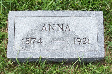 BUCKLEY, ANNA - Shelby County, Iowa | ANNA BUCKLEY