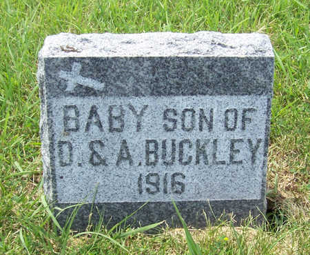 BUCKLEY, BABY SON - Shelby County, Iowa | BABY SON BUCKLEY