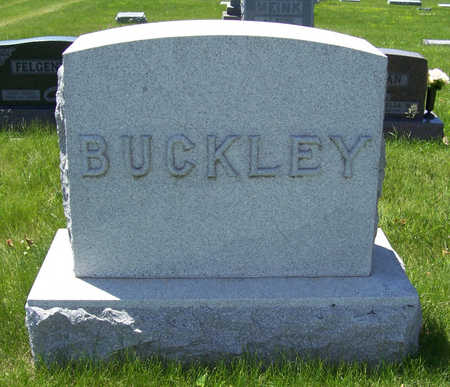 BUCKLEY, EMMA G. (LOT) - Shelby County, Iowa | EMMA G. (LOT) BUCKLEY