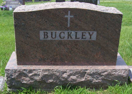BUCKLEY, JOHN T. & AGNES M. (LOT) - Shelby County, Iowa | JOHN T. & AGNES M. (LOT) BUCKLEY