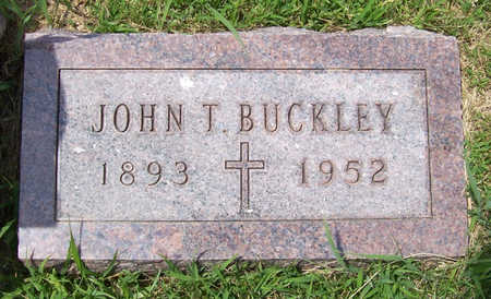 BUCKLEY, JOHN T. - Shelby County, Iowa | JOHN T. BUCKLEY