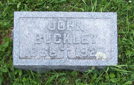 BUCKLEY, JOHN - Shelby County, Iowa | JOHN BUCKLEY