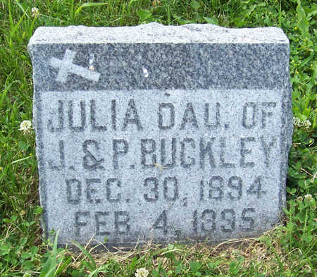 BUCKLEY, JULIA - Shelby County, Iowa | JULIA BUCKLEY