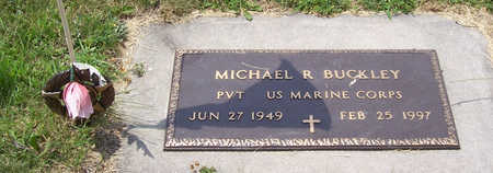 BUCKLEY, MICHAEL R. (MILITARY) - Shelby County, Iowa   MICHAEL R. (MILITARY) BUCKLEY