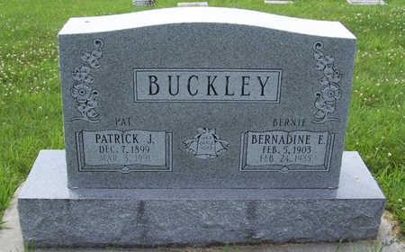 BUCKLEY, BERNADINE E. - Shelby County, Iowa | BERNADINE E. BUCKLEY