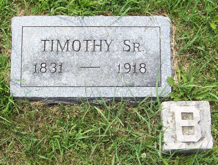 BUCKLEY, TIMOTHY, SR. - Shelby County, Iowa | TIMOTHY, SR. BUCKLEY