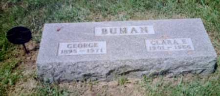 BUMAN, GEORGE - Shelby County, Iowa | GEORGE BUMAN