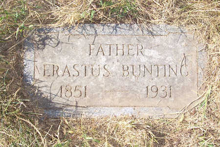 BUNTING, ERASTUS (FATHER) - Shelby County, Iowa | ERASTUS (FATHER) BUNTING
