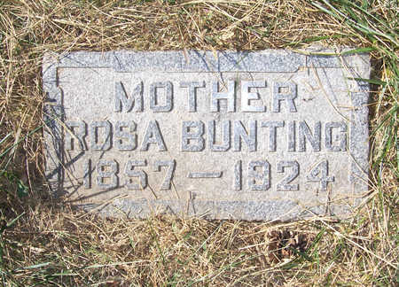 BUNTING, ROSA (MOTHER) - Shelby County, Iowa | ROSA (MOTHER) BUNTING