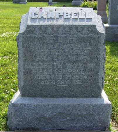 CAMPBELL, ELIZABETH - Shelby County, Iowa | ELIZABETH CAMPBELL
