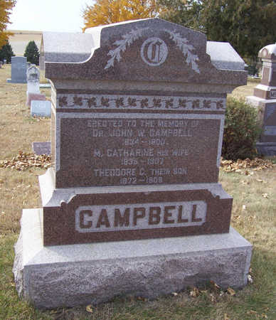 CAMPBELL, M. CATHERINE - Shelby County, Iowa | M. CATHERINE CAMPBELL