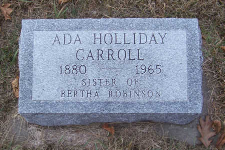 HOLLIDAY CARROLL, ADA - Shelby County, Iowa | ADA HOLLIDAY CARROLL