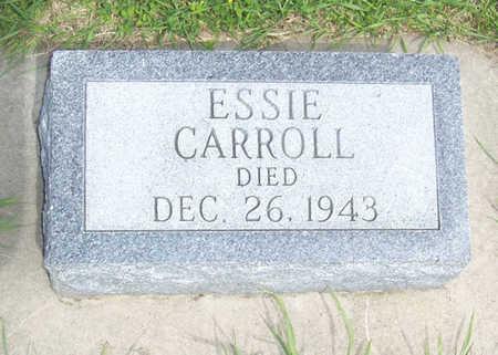CARROLL, ESSIE - Shelby County, Iowa | ESSIE CARROLL
