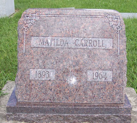 CARROLL, MATILDA - Shelby County, Iowa | MATILDA CARROLL