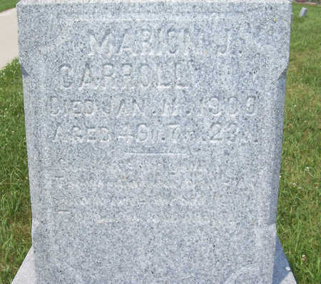 CARROLL, MARION J. (UP CLOSE) - Shelby County, Iowa | MARION J. (UP CLOSE) CARROLL