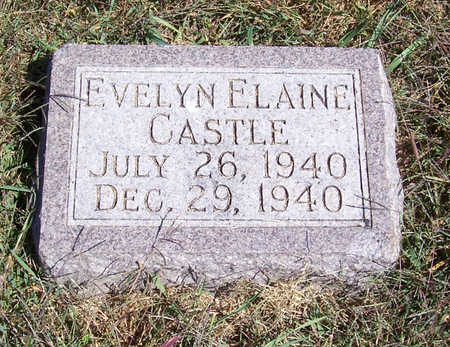 CASTLE, EVELYN ELAINE - Shelby County, Iowa | EVELYN ELAINE CASTLE