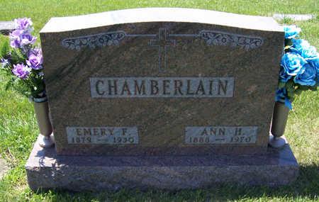 CHAMBERLAIN, EMERY F. - Shelby County, Iowa | EMERY F. CHAMBERLAIN