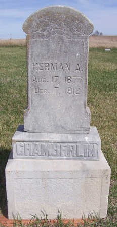 CHAMBERLIN, HERMAN A. - Shelby County, Iowa | HERMAN A. CHAMBERLIN