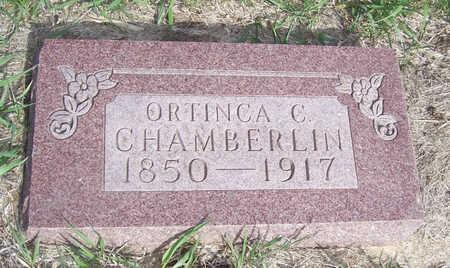 CHAMBERLIN, ORTHINCA C. - Shelby County, Iowa | ORTHINCA C. CHAMBERLIN