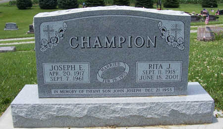 CAREY CHAMPION, RITA J. - Shelby County, Iowa | RITA J. CAREY CHAMPION
