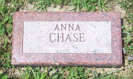 CHASE, ANNA - Shelby County, Iowa | ANNA CHASE