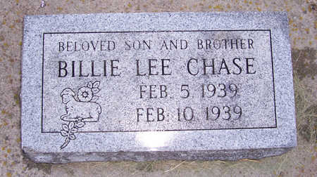 CHASE, BILLIE LEE - Shelby County, Iowa | BILLIE LEE CHASE