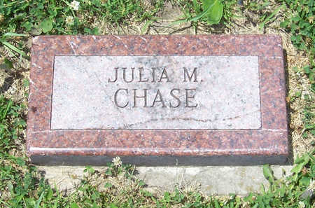 CHASE, JULIA M. - Shelby County, Iowa | JULIA M. CHASE