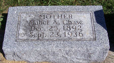 CHASE, MABEL A. (MOTHER) - Shelby County, Iowa | MABEL A. (MOTHER) CHASE
