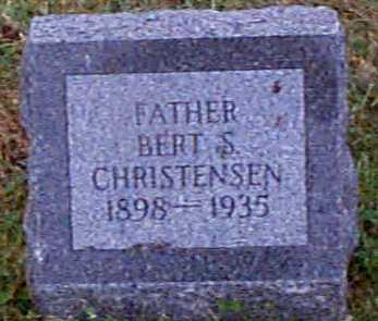 CHRISTENSEN, BERT S - Shelby County, Iowa | BERT S CHRISTENSEN