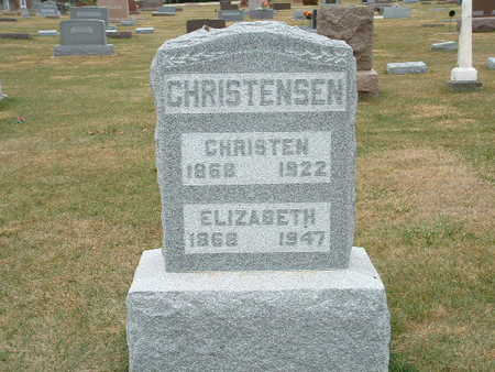 CHRISTENSEN, ELIZABETH - Shelby County, Iowa | ELIZABETH CHRISTENSEN