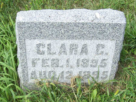 CHRISTENSEN, CLARA C. - Shelby County, Iowa | CLARA C. CHRISTENSEN